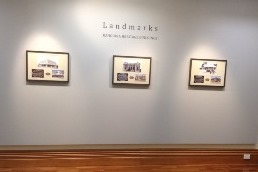 Landmarks exhibition in the Chamber Gallery thumbnail image.